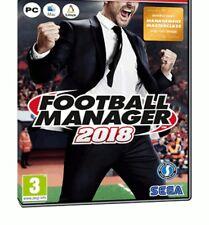 Football Manager 2018 Steam Download Key Digital Code [DE] [EU] PC