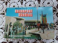Vtg. COLLECTABLE, Universal Studios 1974 Mini Souvenir Folder and Cards..L@@K