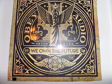 Shepard Fairey - Obey Giant - We Own The Future - Fine Art - HPM - Rare Ed of 8
