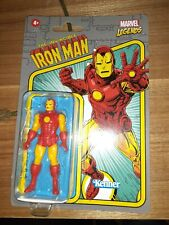 Kenner Marvel Legends Vintage Retro The Invincible Iron Man 3.75 BRAND NEW