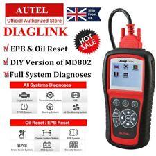 AUTEL DIAGLINK OBD2 Diagnostic Scanner Code Reader EPB as MaxiDiag Elite MD802