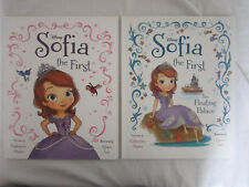 Disney Sofia the First & The Floating Palace 2 x Deluxe Picture Books Mint