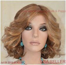 BRAVE THE WAVE LaceFront Vibralite Monopart Wig Raquel Welch R9F26 MOCHA FOIL