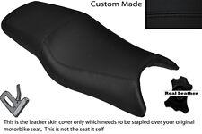 BLACK STITCH CUSTOM FITS HONDA CBR 600 F 97-98 DUAL LEATHER SEAT COVER