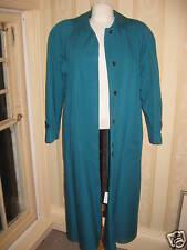 Ladies coat JAN ROBERTS size 10 turquoise                                   2046