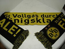 Schal B. Dortmund FINALE Championsleague 2013 Fussball Fanartikel