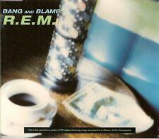 "R.E.M. - MAXI CD ""BANG AND BLAME"""