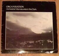 Orchestral Manoeuvres In The Dark – Organisation Vinyl LP Album 33rpm 1980
