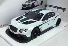 Bentley Continental GT3 2013 Goodwood Festival of Speed in 1:18 Scale by TSM