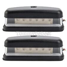 2 X6 LED REAR 12V 24V NUMBER PLATE LIGHT TRUCK FOR LAND ROVER DEFENDER 90 110