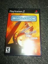 Sony Playstation 2 PS2 Amplitude Case and Manual ONLY