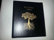 Mi Familia árbol-Historia De Almacenamiento Binder Ref Negro con capacidad de 4d de 50 mm de metal