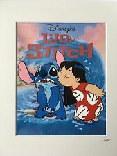 Disney - Lilo and Stitch - Hand Drawn & Hand Painted Cel
