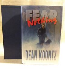 """""""Fear Nothing"""" by Dean Koontz 1st Edition Limited Inscribed US Print 1998"""
