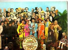 BEATLES.SGT PEPPERS LONELY HEARTS CLUB.UK (Y&B)  MONO LP+ORIG INSERT & INN/SL.EX