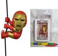 Mini Figure Iron Man Tony Stark Neca Scalers 2in Original Wave 2 Marvel Figure