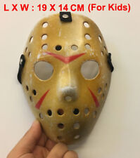 New Cosplay Make Old thicken Friday The 13th Jason Voorhees Hockey Mask For Kids
