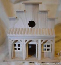 Unfinished Wood Old West Saloon Birdhouse Stain or Paint to Suit Your Needs