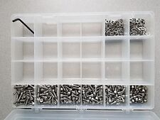 Stainless Steel CARB Screw Shop Kit 5mm x 1200 Bolt/Washer Assortment - BCM-9110