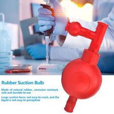 Lab Rubber Suction Bulb Safe Pressure Quantitative Pipette Filler With 3 Valves