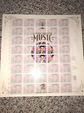 Scott# 2721 ELVIS PRESLEY STAMP SHEET-40 in Special USPS Record Album Packaging