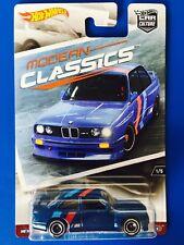 2017 Hot Wheels Car Culture MODERN CLASSICS 1992 BMW M3 SPORTS - mint on card!
