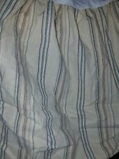 Euc Ralph Lauren Chaps Mountain Thin Stripe King Bed Skirt