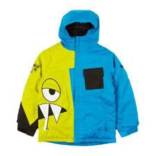 686 Boys Snaggleface II Snowboard Jacket (L) Cyan