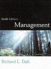Management Daft, Richard L. Hardcover
