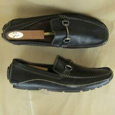 Clarks England US 13 M Men Loafer Horse Bit Driving Moc Toe Leather 71284