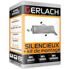 Pour Citoren Saxo Peugeot 106 1.1 1.4 2000-2004 silencieux arriere -659
