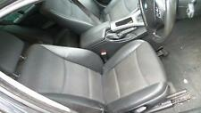 2005 BMW 3 SERIES E90 BLACK HALF LEATHER INTERIOR - SEATS WITH DOOR CARDS ONLY