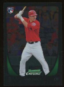 2011 Bowman Chrome #175 Mike Trout Angels RC Rookie