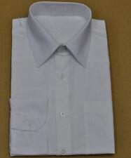 Men's off white mercirized quality long sleeves dress shirt (151/2/34-35)