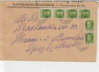 bavaria 1919  stamps cover ref 21301