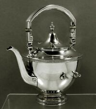 Gorham Sterling Tea Kettle             c1930 ETRUSCAN