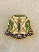 Authentic US Army 332nd Civil Affairs Brigade Unit DI DUI Crest Insignia S-38