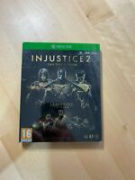 Injustice 2 Steelbook (NO GAME) Legendary Edition Xbox One