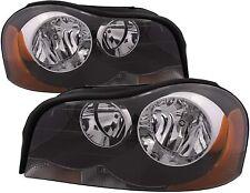 Volvo XC90 NEW Pair Set for 2003-2014 Headlights Headlight Assembly w/Bulb