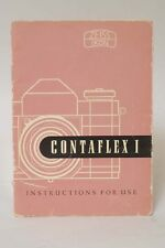 F66350~ Zeiss Contaflex I Instruction manual – 40 Pages