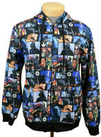 Star Wars Mens Hoodie Sweatshirt Size Large Collage Darth Vader/Chewy Full Zip