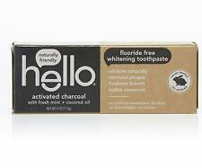 Hello Oral Care Activated Charcoal Teeth Whitening Toothpaste Vegan SLS Free 4oz