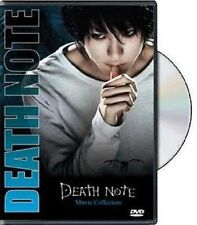 DEATH NOTE Live Action Movie 1 2 3 Complete Movie Collection DVD English Audio