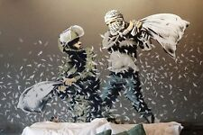 A4 BANKSY ART PHOTO PRINT FOR 99P (THE WALLED OFF HOTEL)
