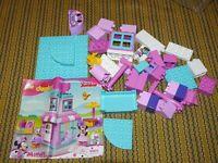Lego DUPLO Disney Minnie's Bow-Tique 10844  Incomplete