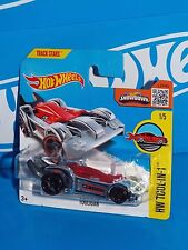 Hot Wheels 2016 Tool-In-1 #31 Tooligan Chrome w/ OH5SPs On Short Card