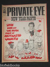 PRIVATE EYE - Vintage Satirical Political Humour Magazine - 31st December 1971