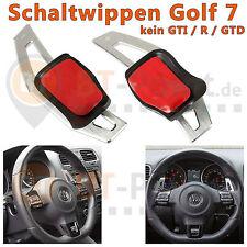 VW Golf 7 DSG Alu Schaltwippen Silber MK7 Verlängerung Schaltung Shift Paddle