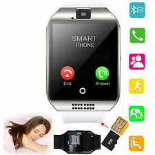 White Bluetooth Wrist Smart Watch Phone For Samsung Galxy S7 S6 S5 S4 Note 5 4 3