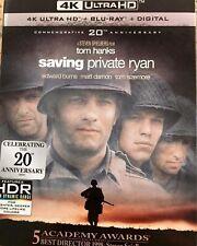 Saving Private Ryan 4K Uhd Blu-Ray, New